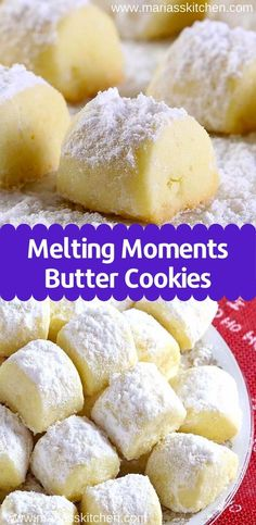 Easy Cookie Recipes, Sweet Recipes, Baking Recipes, Best Butter Cookie Recipe, Recipes With Lemon, Lemon Butter Cookies Recipe, Recipes With Cream Cheese, Favorite Cookie Recipe, Lemon Cookies