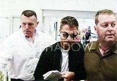 Rob arriving in Nice, France for Cannes, 5-16-14 (46)