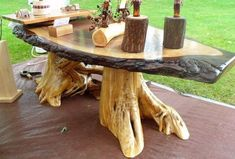 Woodworking has actually been around for along time. If you are going to get wood working, even in the smallest, might also go all the method. Among the typical DIY tasks individuals start is woodworking. Wooden Projects, Woodworking Projects Diy, Wood Crafts, Live Edge Furniture, Log Furniture, Walnut Furniture, Unique Furniture, Driftwood Furniture, Into The Woods