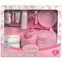 For her toy dolls: Les Classiques Baby Accessories Set by Corolle at Gilt Baby Dolls For Kids, Little Girl Toys, Baby Girl Toys, Toys For Girls, Toddler Girl Gifts, Toddler Toys, Kids Toys, Baby Alive Doll Clothes, Baby Alive Dolls