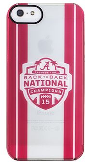 GIVEAWAY: Alabama National Championship 15 iPhone Case (or winner's choice) 1/29