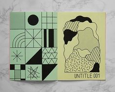 We want to see more of this good looking Zine designed by Maxime Francoit and published by @trineodesign !  #shapes #zine #graphicdesign #inspiration by etapes