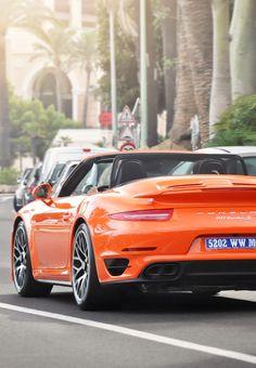 Porsche 911 Turbo S convertible