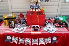 Jocelyn's Parties: Pirate Adventure Printable Party Set