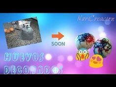 Huevos decorados ~ con mi prima ~ - YouTube