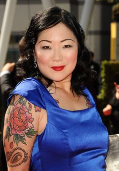 Joan Juliet Buck celebrates history's most dangerous women in a new book. See some of her favorite femme fatales here. British Royal Family Members, Chris Garver Tattoo, Girl Neck Tattoos, Sleeve Tattoos, Margaret Cho, Nick Offerman, Portia De Rossi, Betty White, Feminine Tattoos