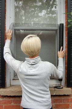 How to Replace a Window Screen...I only have to do this on like 10 screens...uggg...