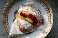Sfogliatelle, a pastry consisting of many layers of dough.
