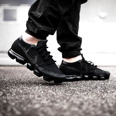 "494 Likes, 3 Comments - Kicks Savage (@kickssavage) on Instagram: ""The Nike Air VaporMax ""Triple Black"" releases again in June. Head over to Kickssavage.com (Tap Link…"""