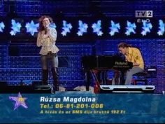 Magdi Rúzsa singing a Hungarian song written by singer-songwriter Péter Máté in the Finale of Hungarian Idol She went on to win. Pop Rock Music, Party Songs, Pop Rocks, Music Videos, Singing, Idol, Stars, Concert, Youtube