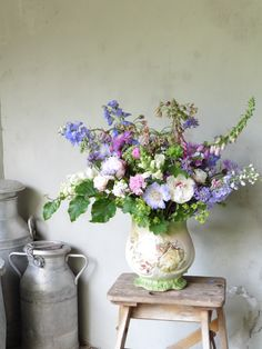 Homegrown arrangement by The Yorkshire Dales Flower Company. http://www.yorkshiredalesflowers.co.uk