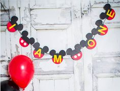 I am ONE Birthday Banner by IttyBittyBoutik on Etsy
