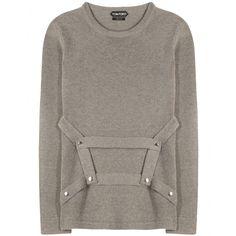Tom Ford - Cashmere-Pullover mit Zierriegeln - mytheresa.com