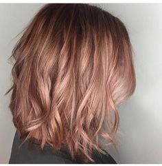 Pastel balayage, hair painting, balayage, pastel hair, balayage for short hair, rose gold hair, curls, short hair styles, hair by @amandafithian, www.curriedayspa.com