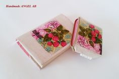 A Set of Book Covers and a Quilted Textile Necklace
