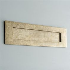 Finish your front door with our large external letter box plate in antique brass with draught excluder. UK made and available with matching door furniture Front Door Accessories, Modern Properties, Exterior Front Doors, Modern Door, Natural Building, Door Furniture, Vintage Lettering, Plate Design