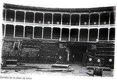 #Pamplona #Navarra. Plaza de toros de Pamplona antigua.
