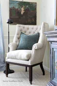 Savvy Southern Style: French Style Guest Bedroom For Fall