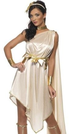 Smiffys Sexy Greek Goddess Aphrodite Roman Toga Halloween Costume Medium 65342e3961a3