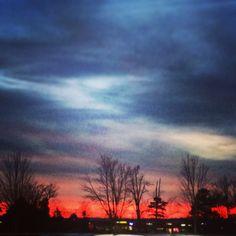 Sunset in Huntersville
