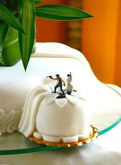 star wars wedding cakes!!! @Cassandra Dowman Dowman carlson