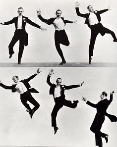 "this photo sequence of dancer & actor Fred Astaire was used as the visual for the fort worth art museum's exhibit poster ""that's entertainment: the american musical film"" designed by Massimo Vignelli Let ́s Dance, Shall We Dance, Just Dance, Fred Astaire, Classic Hollywood, Old Hollywood, Tango, Fred And Ginger, Dance Like No One Is Watching"