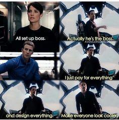 He's the boss !