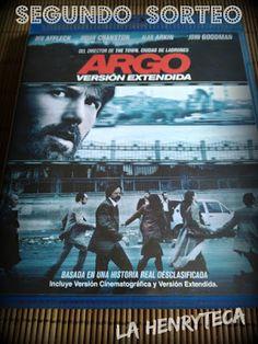 La Henryteca del Cine: Sorteo Argo en Blu-ray