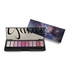 QINF Professional 10 Color Sky with Star Full Shimmer Eyeshadow Palette with Double Ended Brush 01 * More info could be found at the image url.