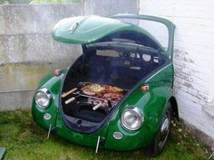 Bug on the grill? More like grill in the bug