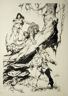 WFCBA plate 5 by John BUSCEMA Comic Art