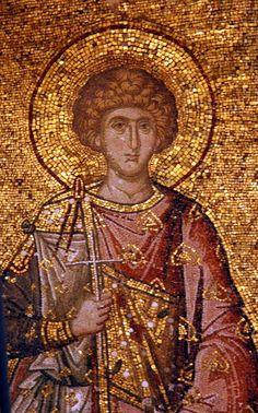 Byzantine Art, Byzantine Mosaics, Mosaic Flowers, Roman Fashion, John The Baptist, Catholic Art, Religious Icons, Orthodox Icons, Ancient Artifacts