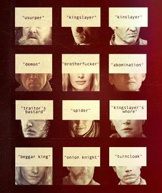 Robert Baratheon, Jaime Lannister, Stannis Baratheon, Tyrion… – winter is coming Cersei Lannister, Brienne Of Tarth, Jaime Lannister, Game Of Thrones Winter, Game Of Thrones Books, Hbo Tv Series, Saga, Got Memes, Geek Games