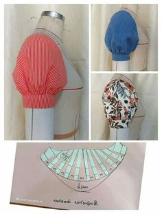 Best 10 Sewing Blouse Pattern Costura New Ideas Dress Sewing Patterns, Clothing Patterns, Skirt Patterns, Sewing Clothes, Diy Clothes, Clothes Women, Sewing Tutorials, Sewing Crafts, Sewing Diy