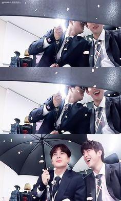 GOT7 Jinyoung and Jackson