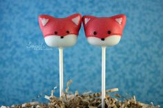 Fox (Cake Pops)