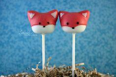 Fox Cake Pops