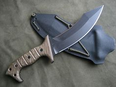 Miller Bros Blades MBB M 45 Fighting Knife Karambit Double Edged Dagger 11   eBay