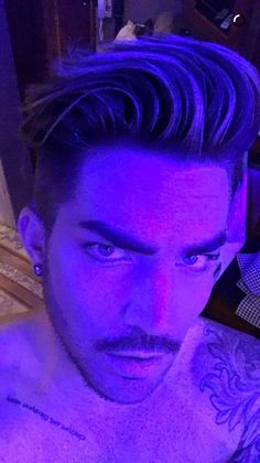 He's even amazing in purple!! ~ PURPLE MAN!!!!!!!! That actually makes a lot of sense ....
