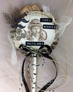 Steampunk Lollipop Card - Audhild Ljones - Stempelglede :: Design Team Blog