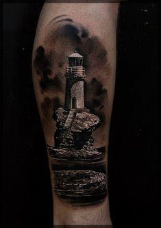 Tatuagem de Farol