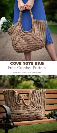 Crochet Market Bag, Crochet Tote, Crochet Handbags, Crochet Purses, Free Crochet, Boho Crochet Patterns, Bag Pattern Free, Knitted Bags, Purses And Bags
