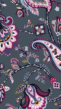Paisley Wallpaper, Paisley Art, Iphone Background Wallpaper, Pattern Wallpaper, Vera Bradley Iphone Wallpaper, Cute Wallpaper Backgrounds, Flower Backgrounds, Pretty Wallpapers, Cute Cartoon Wallpapers