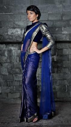 Sarees are traditional dresses from India and worn all over the Indian subcontinent. This dress is a daily wear or a ceremonial style of clothing. The sarees for wedding are a common costume in India for brides, because tradition is very important for Indians.