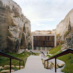 Roman Quarry Redesign by AllesWirdGut Architektur