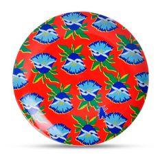 Prato de Parede Brasilidade - Chita - Decoração decor8.com.br loja de decoração online