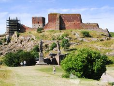 Burgruine Hammershus, Insel Bornholm #burgruine #hammershus #insel #bornholm #daenemark