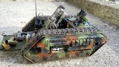 Conversion, Griffon, Imperial Guard - R.D - Griffon Mortar Tank 3 - Gallery 40k Imperial Guard, Camo Patterns, Model Look, Modern Warfare, Warhammer 40k, All Over The World, Military Vehicles, Biscuit, Tanks