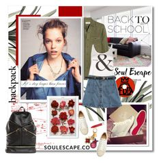 """""""Backpack Soulescape.co"""" by undici ❤ liked on Polyvore"""