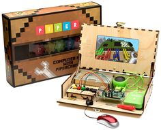 Amazon.com: Piper Computer Kit | Educational Computer that Teaches STEM and Coding through Minecraft: Launchpad